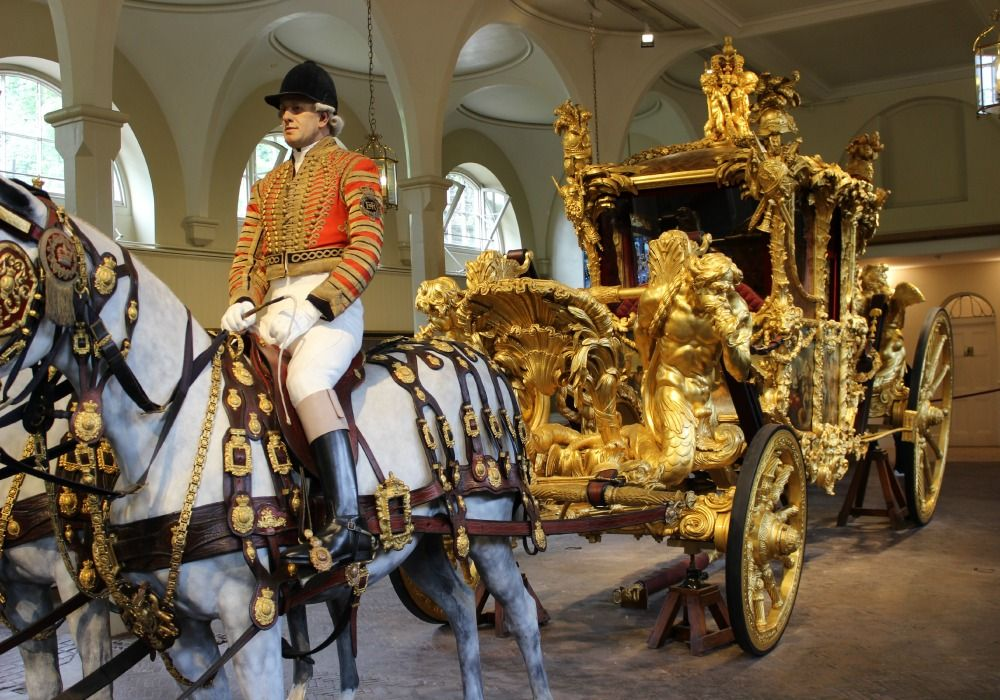 London: Royal Mews, Buckingham Palace