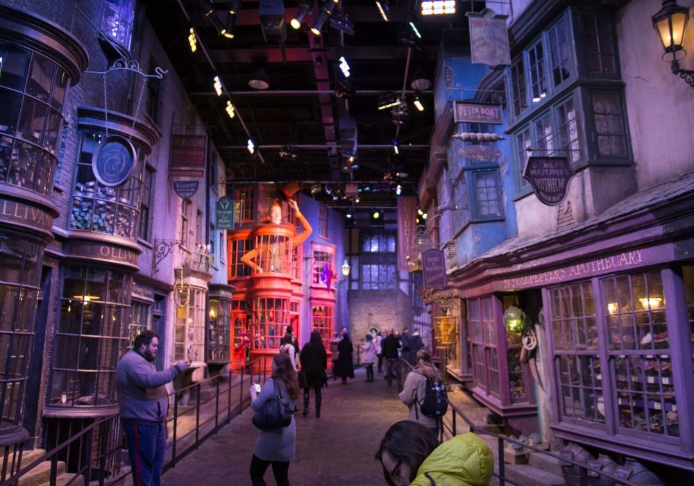 Inside the Warner Bros Studio Harry Potter Tour