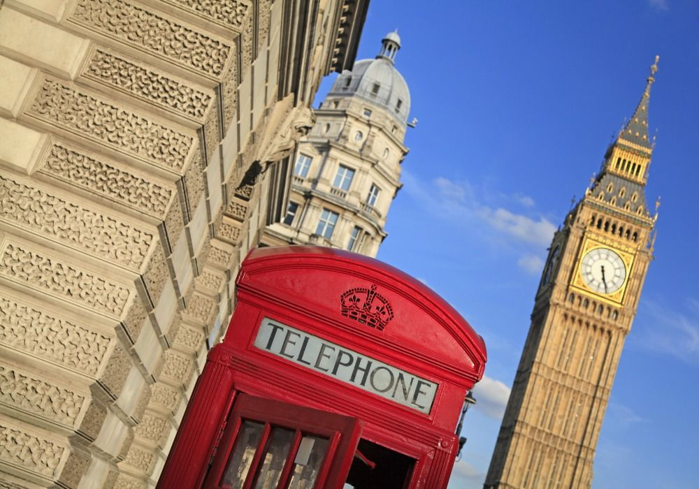 London: Big Ben & Red Telephone Box