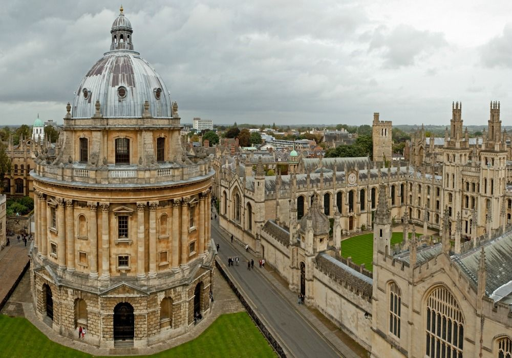 Oxford: Radcliffe Camera & All Souls College