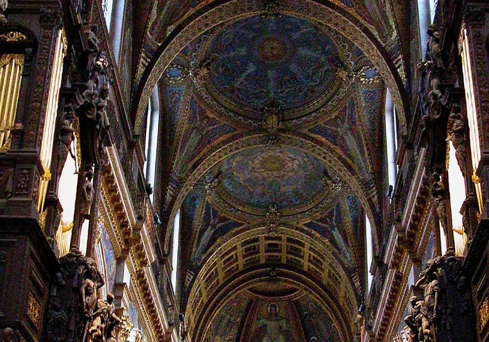 London: St Paul's Cathedral ceiling