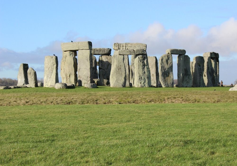 A daytime view of Stonehenge