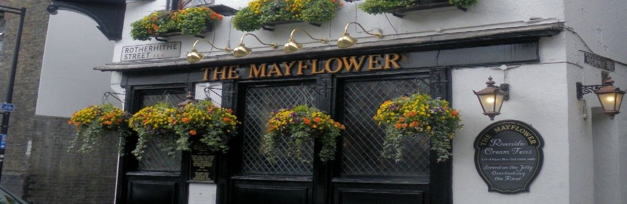 London: The Mayflower Pub