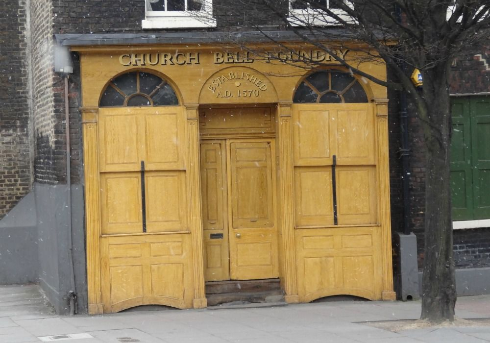 London: White Chapel Bell Foundry