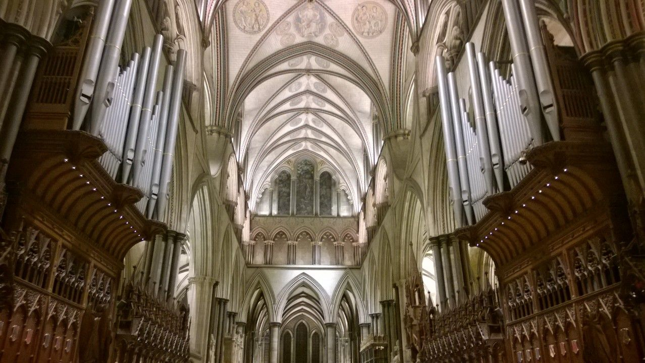 The magnificent Salisbury Cathedral