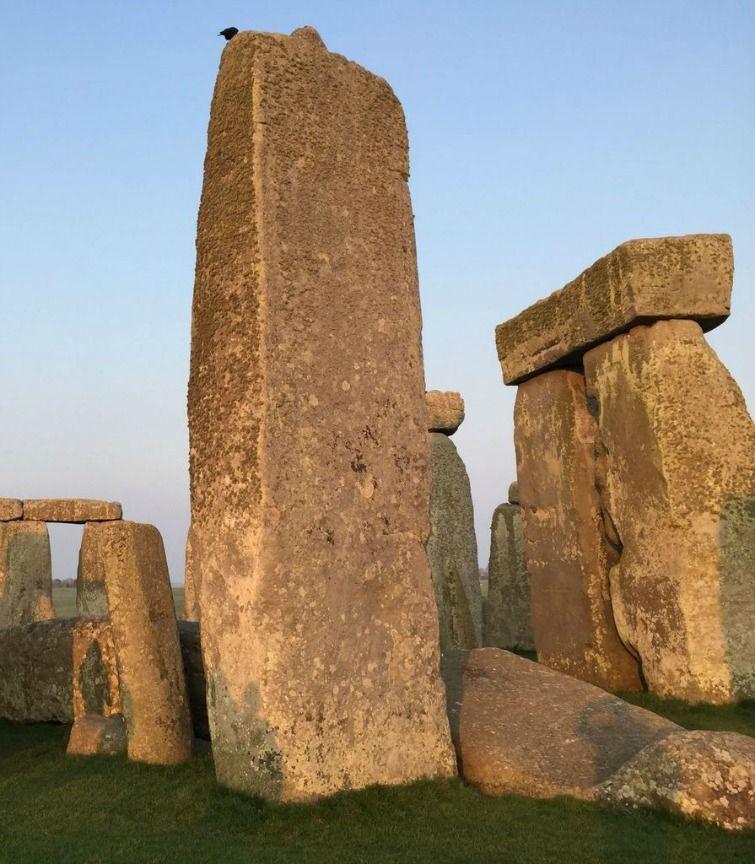 Stonehenge: Tallest stone cropped